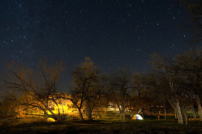 A North View  A northern view of the night sky from our campsite at Inks Lake, Texas.  Image #  80066_0935