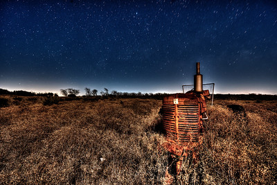 My Farmall Under the Stars