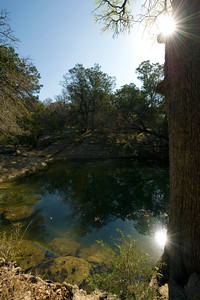 "The ""Wash Pond"" at Mother Neff State Park.   This image is protected by U. S. copyright laws so it cannot be copied, downloaded, or reproduced by any means without the formal written permission of Mark Chapman at Country Images."