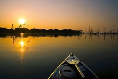 Kayak Sunrise